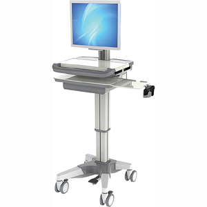 SKR-AB00 ABS Medical Device Durable Nursing Trolley With Computer