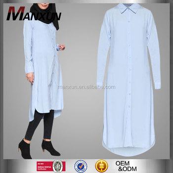 594a38547eda Adults Age Group Islamic Clothing Latest Tunic Abaya Fashion Muslim Dress  Muslim Girl Long Sleeve Blouse
