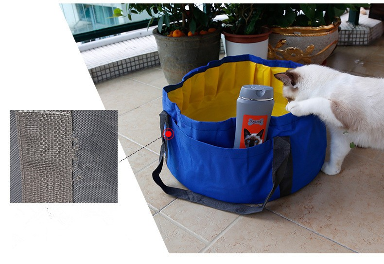 Redhill Foldable Cat Puppy Pool Collapsible Pet Pool Bathing Tub For Dogs  Or Cats Bathtubs