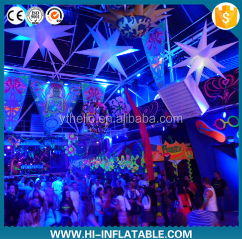 inflatable decorative star new design giant inflatable star