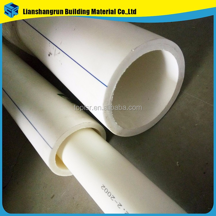 Plastic ppr material cold hot water tube pp r pipe buy for Water pipe material