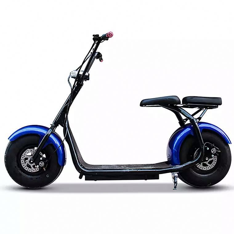 2017 e-road electrical wheel scooter electric mobility bike with bluetooth/anti-theft/front and rear suspension