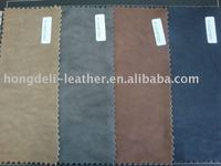 shoe upper leather ,unique embossing shoe leather,Y170 imitation washed leather,boot leather