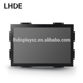 Manufacturer 16: 9 or 4:3 industrial lcd monitor open frame touch screen 10 inch