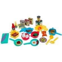 Just Like Home Betty Crocker Pots, Pans, & Play Food Set