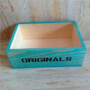 High quality custom gift wood crate for packaging