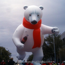 inflatable promotion white bear attract customers giant Inflatable replicas, big Inflatable Models