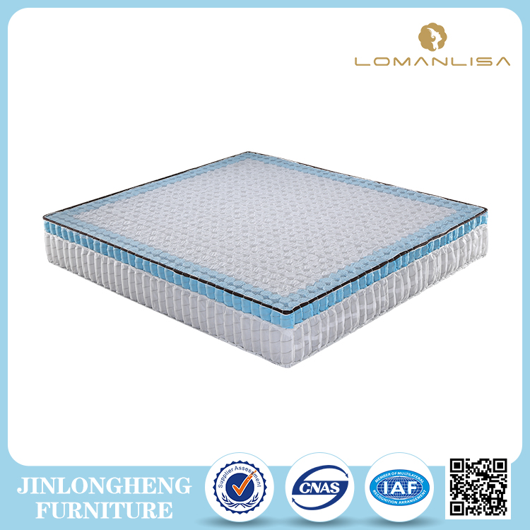 China mattress factory good price double layer pocket coil spring