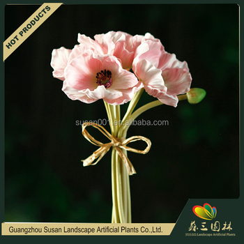 Pu handmade poppy flower latex real touch decorative artificial pu handmade poppy flower latex real touch decorative artificial poppy flower factory mightylinksfo