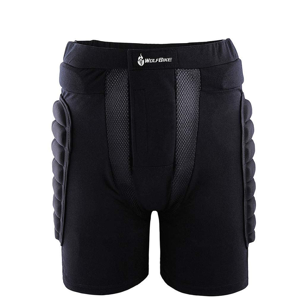 755a7912be2 Get Quotations · USA AMAZING MALL BC305 Protective Hip Butt Pad Pant  Breathable Gear Guard Pants Lightweight Sportswear for