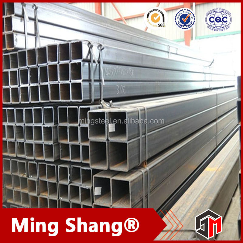 Factory direct sale 50mmx50mm rectangular tube with oiling or painting