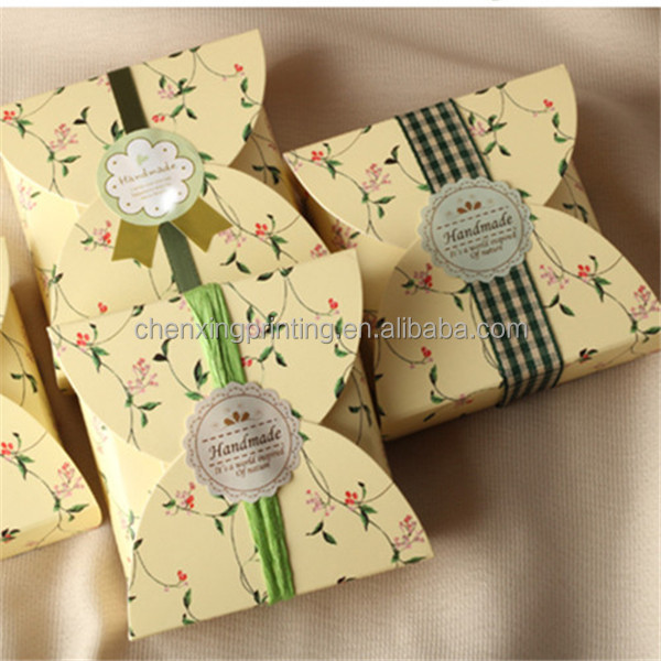 Customized Tea Paper Box Color Special Kraft Gift Bags Food Gifts For Party Favors