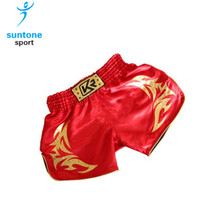 Make your own custom flag MMA shorts with green, black and red color SMT171