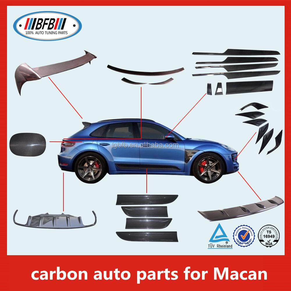 Carbon Fiber Parts For Porsche Macan Carbon Rear Spoiler