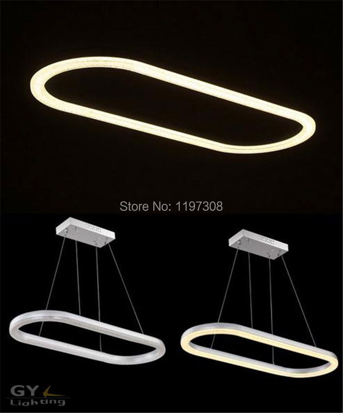 Aliexpress.com : Buy L78*W30cm Oval LED Acrylic