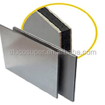 alucobond silver pvdf coating fireproof aluminum composite panel buy silver pvdf coating. Black Bedroom Furniture Sets. Home Design Ideas