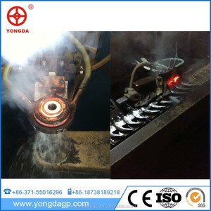 Hot sell delicate half shaft induction hardening machine