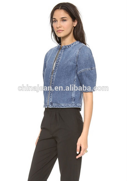 Newest Fashion Women Ladies Jean Denim Jackets Outwear Short ...
