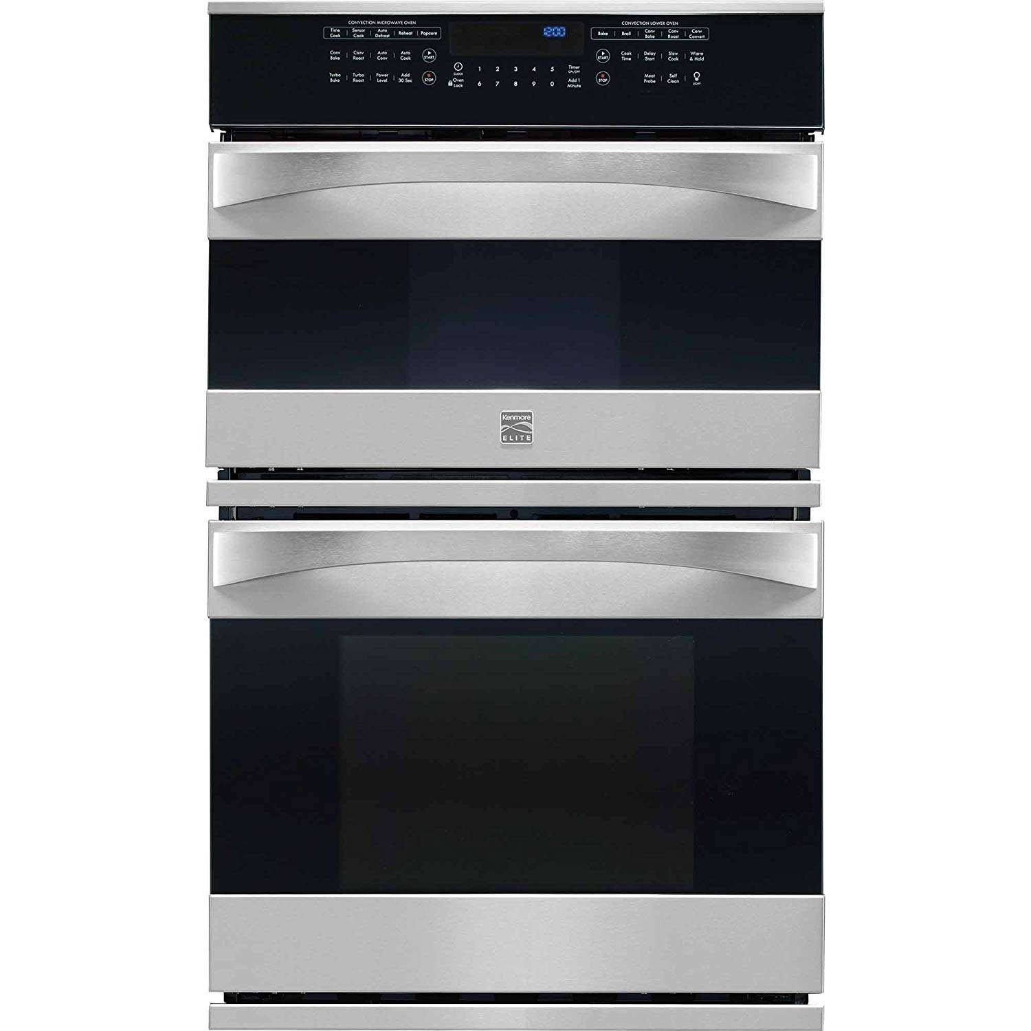 Cheap Best Microwave Combination Oven Find In Terms Of A Multiple Control You39ll Need One As Shown The Get Quotations Kenmore Elite 48913 27 Electric Wall Stainless Steel Includes