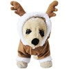 2016 Christmas decoration Reindeer style pet gift fleece sweaters dog hoodie clothes