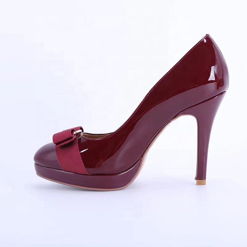 a22cd18ec Классическая пикантная итальянская Роскошная обувь; элегантная китайская  обувь из натуральной кожи; женская обувь на платформе и высоком каблуке