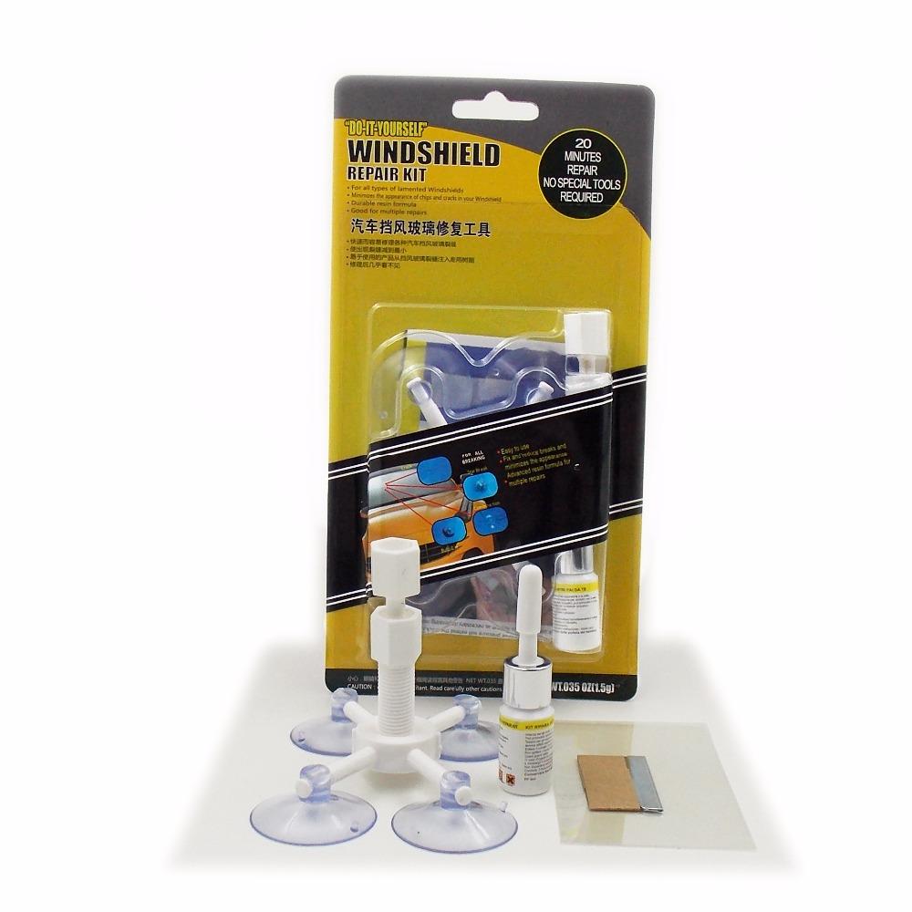 buy newest diy car automobile windshield repair kit tools auto glass windscreen. Black Bedroom Furniture Sets. Home Design Ideas