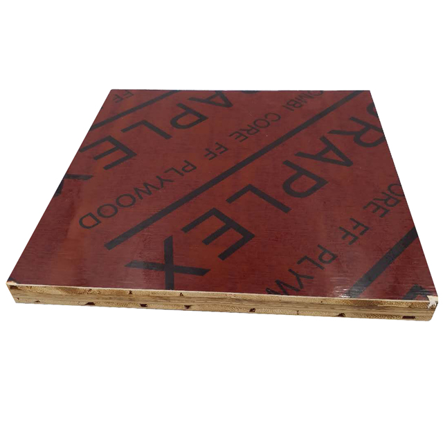 18mm lumber waterproof shuttering film faced plywood for outdoors
