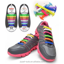 2017 fashion colorful new rainbow no tie silicone shoelaces