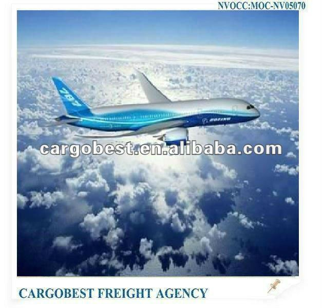 Shipping air freigth from China to Somali
