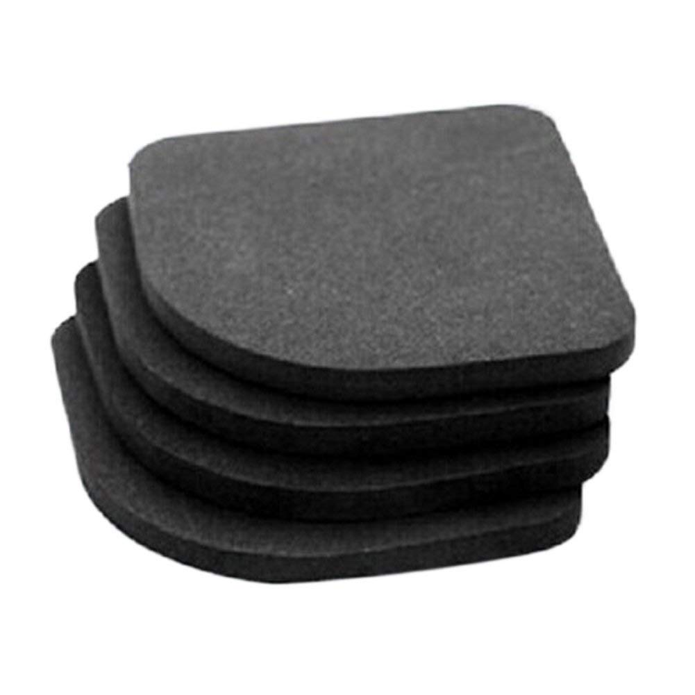 SZTARA 4 Pcs Home Non-slip Shock Pads Plastic Crash Pads Anti-vibration Washing Machine Absorbing Capacity Pads Suitable for Electric Appliance Table Furniture Floor Protector