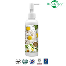 2017 halal perfect chamomile organic natural beauty whitening acne milk face pore foam facial oily skin cleanser