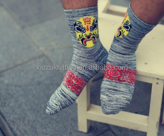 Christmas Gift Best Popular Special Face Expression For Special Men Sock