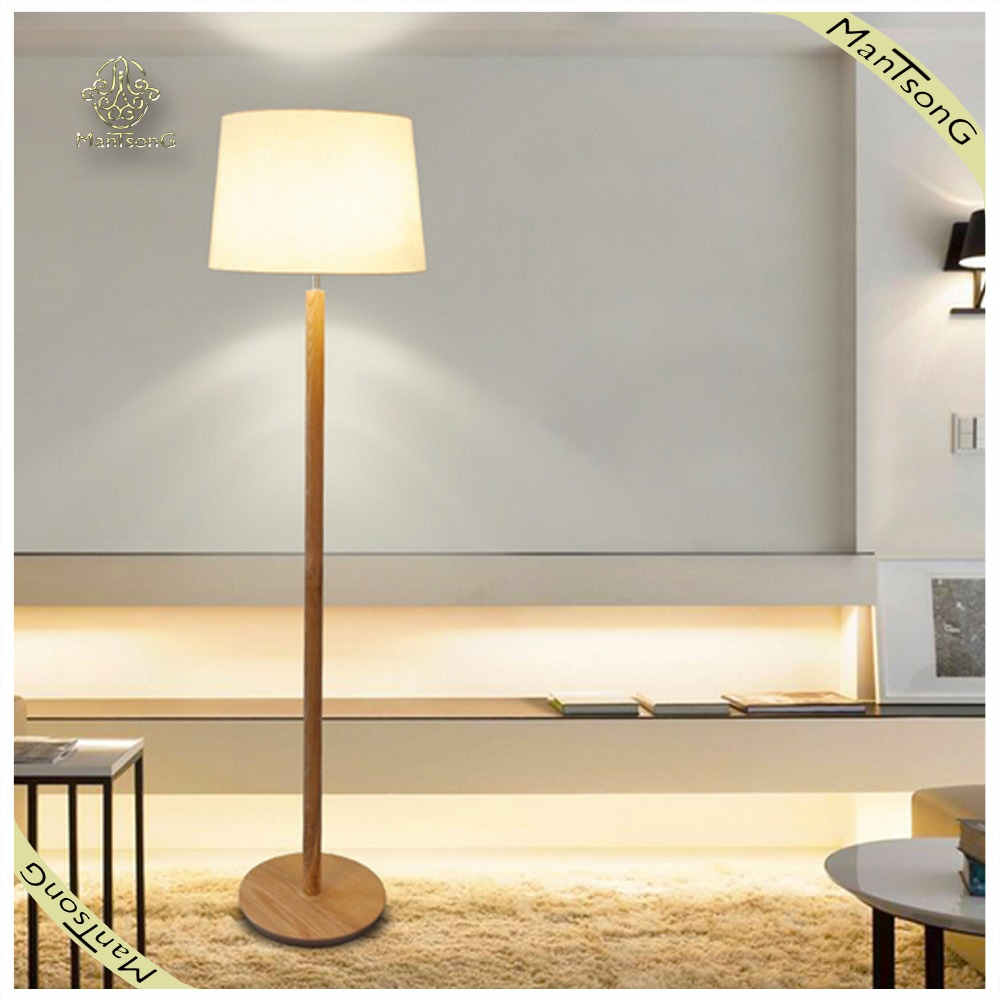 2017 Hot Sale Modern Wooden Decorative Floor Lighting Unique Floor Lamp