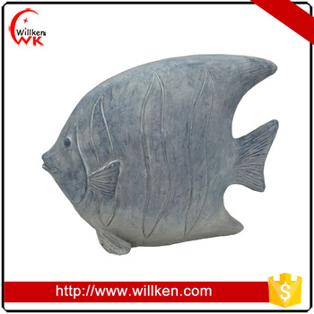 Handmade resin decoration fish for home indoor decortion