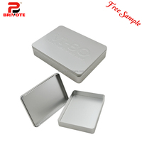 Free shipping wholesale custom cookie box cookie tins metal box round matting tin box