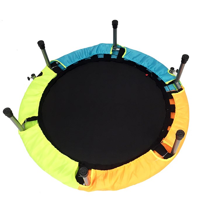 Indoor mini folding and with armrest trampoline