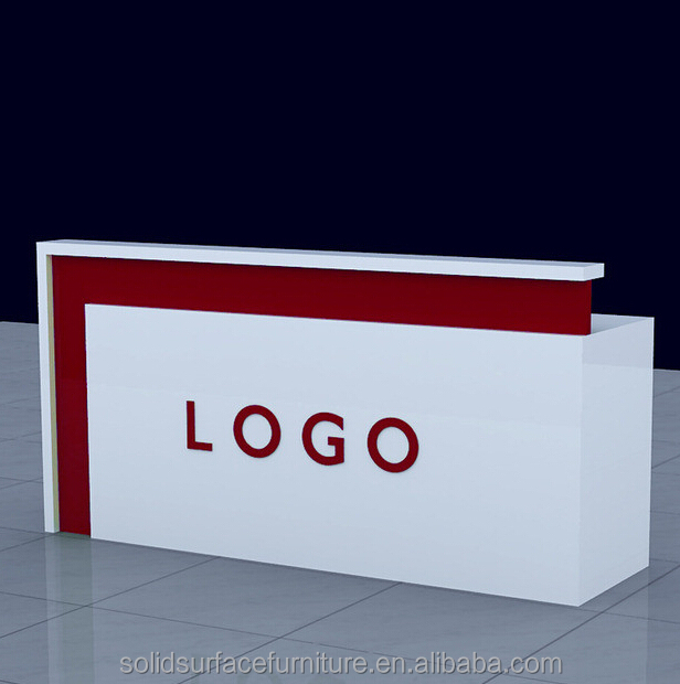 Showroom Cash Counter Design