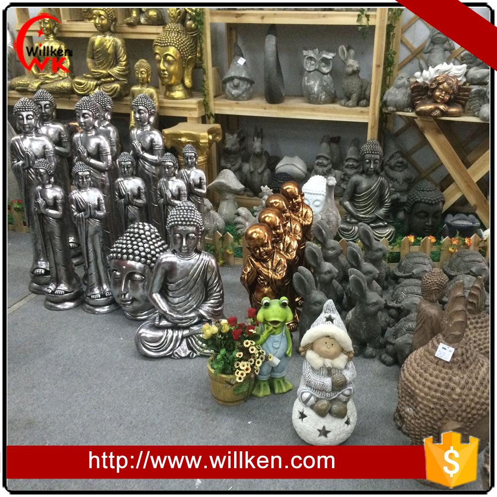 Ornamenti da giardino resina statua buddha in bronzo di for Ornamenti giardino