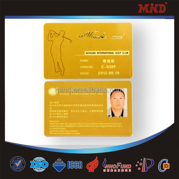 Mdc74 Plastic Photo Printed Make Company Id Cards - Buy Make ...