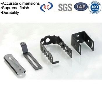 sheet metal custom flat metal spring clips steel retaining clip