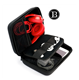 Portable EVA Carrying Case Hard Drive Organizer Bag Protective Box Travel Bag 3.5 Inch Hard Disk Case