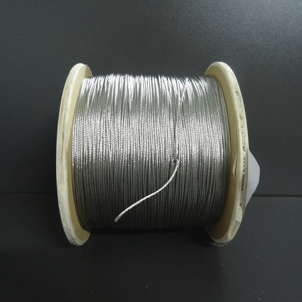 tinned <strong>flat</strong> braided copper wire usd for carbon brush producing