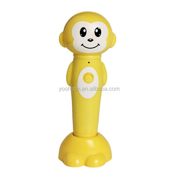 Cute design duck and frog bluetooth talking pen