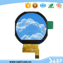 "HOT selling IPS all sight viewing 1.22"" TFT LCD 240x204 connecter type SPI interface TFT LCD"