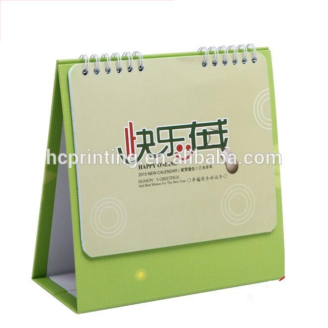 Cardboard Standing Desk Calendar Wholesale In Shanghai Buy