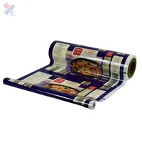 Customized Printed Food Packaging Plastic Film in Roll stretch film