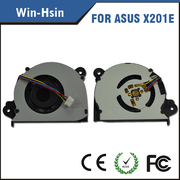 CPU laptop fan for asus x201e s200e q200e x202e laptop cpu cooling fan 13NB00L1AP0502