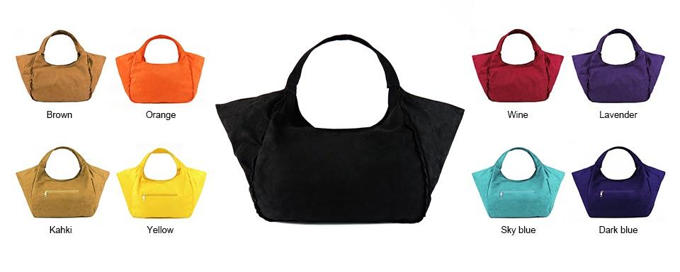 e9bfd38e2faa Wholesale 2016 New Women Shoulder Bags Female Faux Suede Handbags ...
