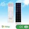 60w green power solar led light with battery controller motion sensor