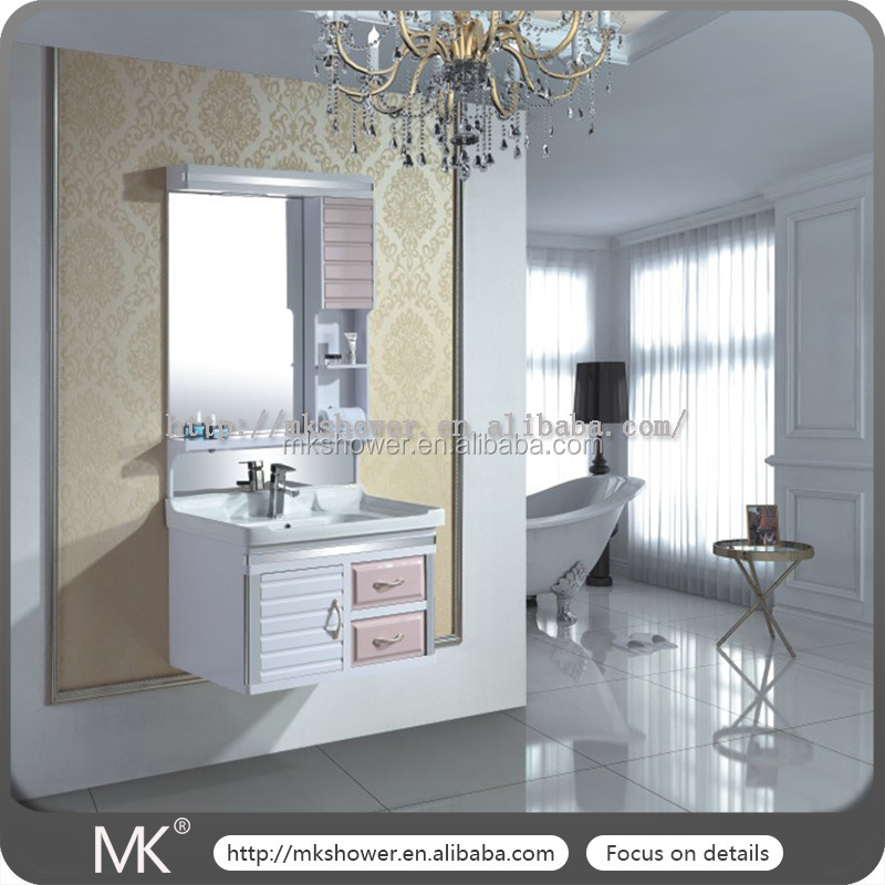 Modern Style Carved door design ready made bathroom